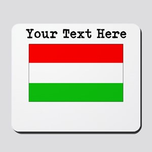 Custom Hungary Flag Mousepad